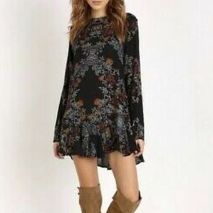 Free People Smooth Talker Printed Tunic Dress